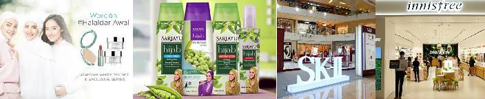 インドネシアの化粧品事情